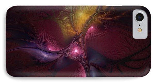 Before Dawn-fractal Art IPhone Case