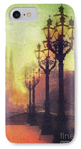 Before Sunrise Phone Case by Mo T