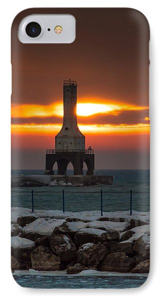 Before The Blizzard IPhone Case by James  Meyer