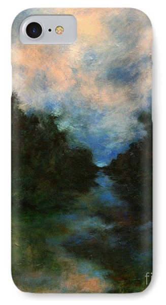 IPhone Case featuring the painting Before The Dream by Alison Caltrider