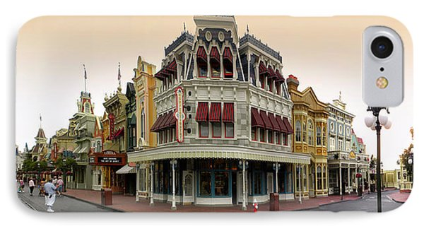 Before The Gates Open Magic Kingdom Main Street. IPhone Case