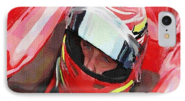 Before The Green Flag IPhone Case by Dennis Buckman