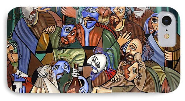 Before The Last Supper Phone Case by Anthony Falbo