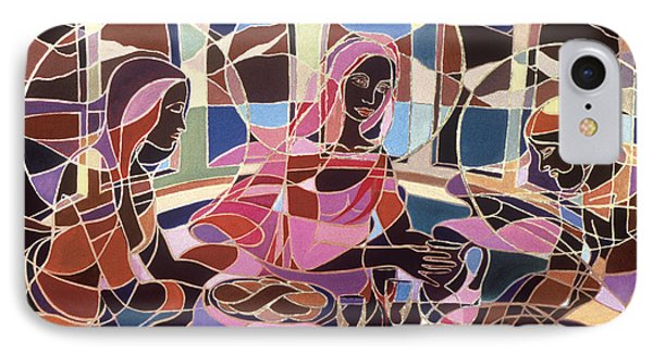Before The Last Supper IPhone Case by Carolyn Goodridge