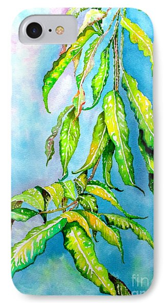 IPhone Case featuring the painting Before The Monsoon Rains Fall by Julie  Hoyle