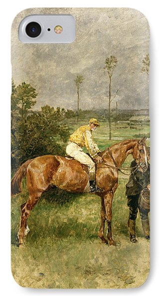 Before The Start Phone Case by John Lewis Brown