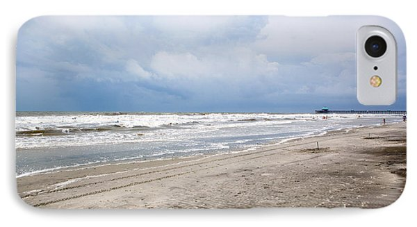 IPhone Case featuring the photograph Before The Storm by Sennie Pierson