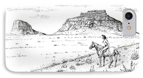 Open Prairie Overlook IPhone Case