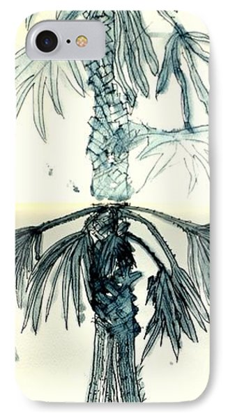 IPhone Case featuring the drawing Beginnings by Antonia Citrino