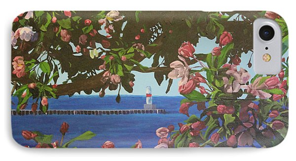 Beginnings Of Summer At The Waterfront IPhone Case by Wendy Shoults