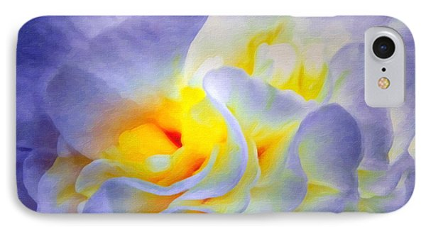 Begonia Shadows II Painting IPhone Case