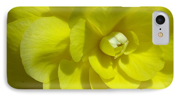 IPhone Case featuring the photograph Begonia Up Close by Gene Cyr