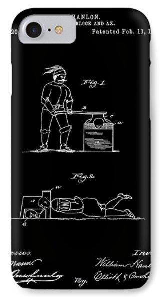 Beheading Ax Patent IPhone Case