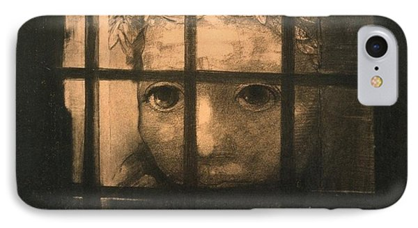 Behind Bars Phone Case by Odilon Redon