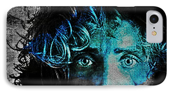 Behind Blue Eyes - The Who Phone Case by Absinthe Art By Michelle LeAnn Scott