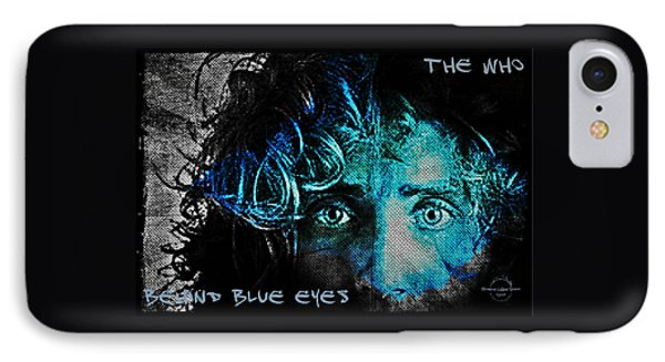 Behind Blue Eyes - The Who IPhone Case