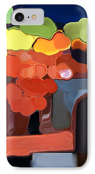 IPhone Case featuring the digital art Behind My Window by Haleh Mahbod