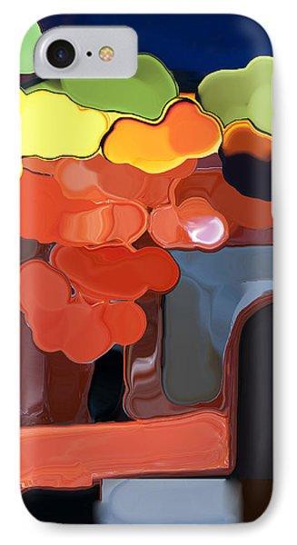 Behind My Window IPhone Case by Haleh Mahbod