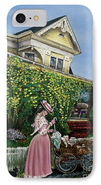 Behind The Garden Gate Phone Case by Linda Simon