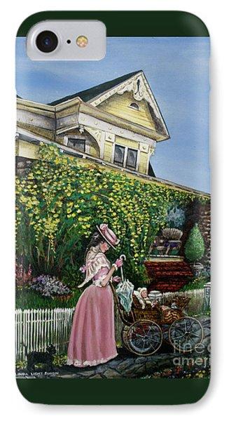 Behind The Garden Gate IPhone Case by Linda Simon