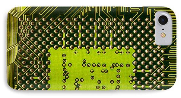 Behind The Processor Socket Phone Case by Janne Mankinen