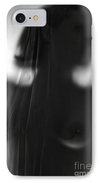 Behind The Shower Curtain Phone Case by Alkstudio SP