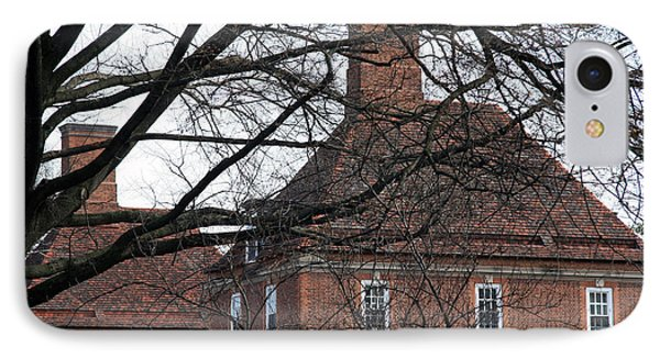 The British Ambassador's Residence Behind Trees IPhone Case by Cora Wandel