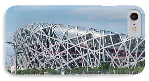 Beijing National Stadium, Olympic IPhone Case by Panoramic Images