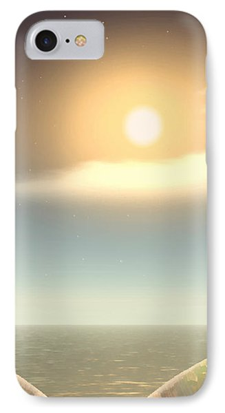 Being There IPhone Case by Wendy J St Christopher