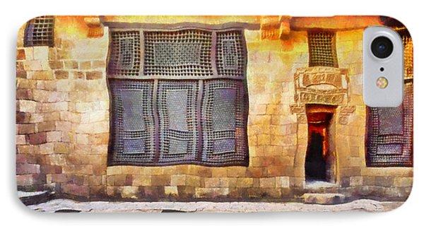 Beit El Harrawi Phone Case by George Rossidis