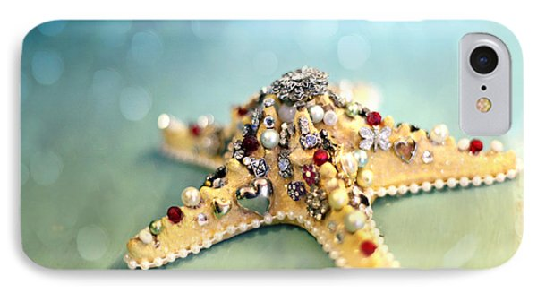 Bejeweled Starfish Phone Case by Sylvia Cook