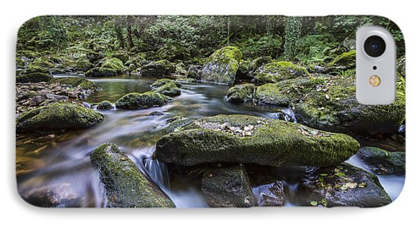 IPhone Case featuring the photograph Belelle River Neda Galicia Spain by Pablo Avanzini