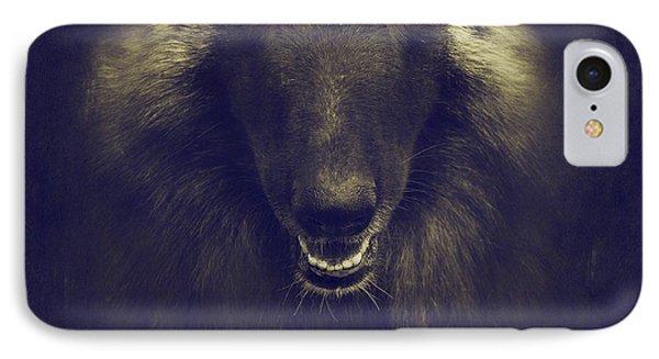 Belgian Tervuren Portrait IPhone Case by Wolf Shadow  Photography