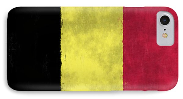 Belgium Flag Phone Case by World Art Prints And Designs