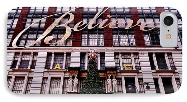 Believe IPhone Case by Benjamin Yeager