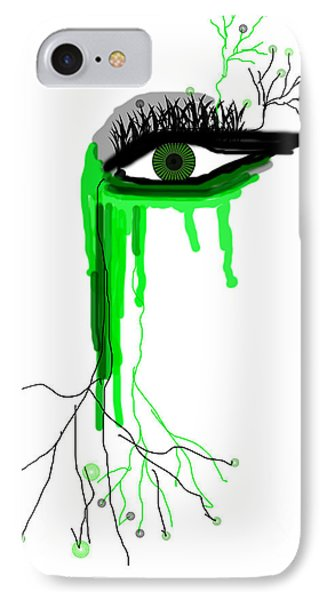 IPhone Case featuring the digital art Believe Me by Sladjana Lazarevic