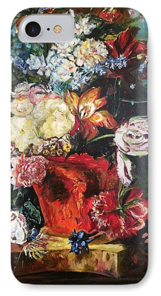 Life Is A Bouquet Of Flowers  IPhone Case by Belinda Low
