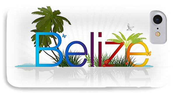 Belize IPhone Case by Aged Pixel