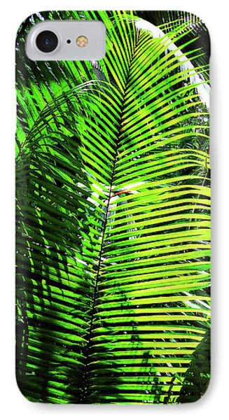 Belize Caracol Jungle IPhone Case by Joan  Minchak
