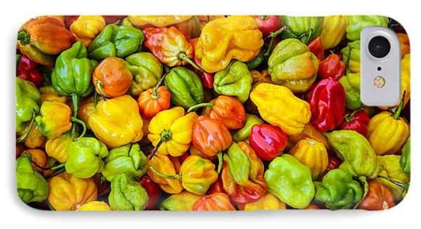 Belize Peppers IPhone Case