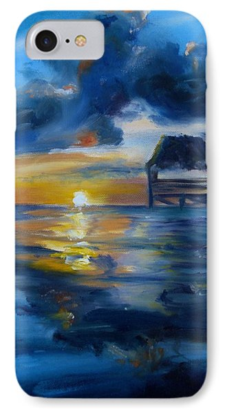 Belizean Sunrise IPhone Case by Donna Tuten