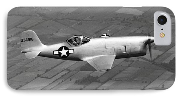 Bell Aircraft Xp-77 IPhone Case by Underwood Archives