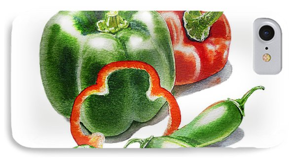 Bell Peppers Jalapeno IPhone Case