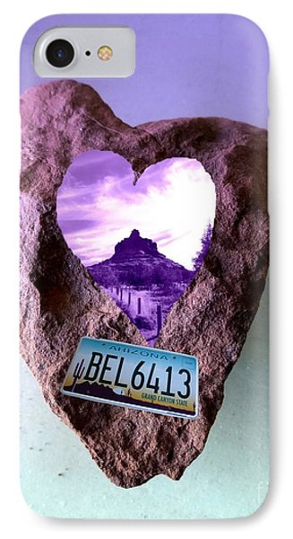 Bell Rock 6413 Serendipity IPhone Case by Marlene Rose Besso