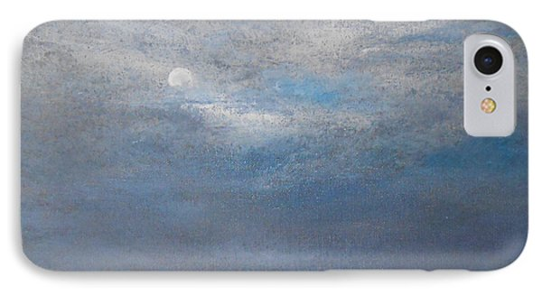 IPhone Case featuring the painting Bella Luna by Jane  See