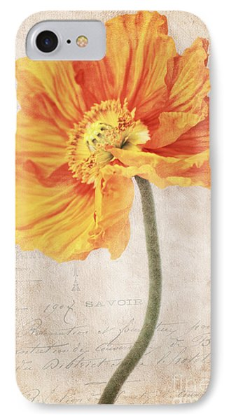 Bella Orange IPhone Case by Angela Doelling AD DESIGN Photo and PhotoArt