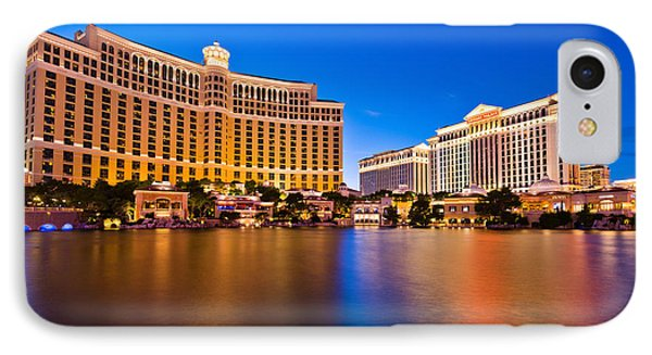 Bellagio And Caesars IPhone Case