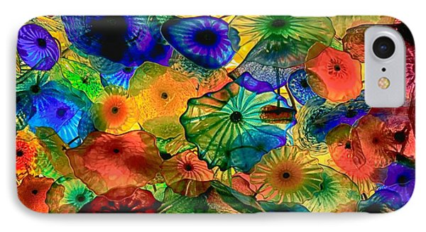 Bellagio Flowers IPhone Case by Nicola Fiscarelli