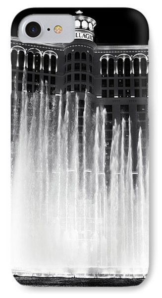 Bellagio Fountains I Phone Case by John Rizzuto