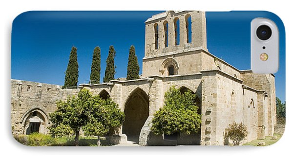 Bellapais Abbey Kyrenia IPhone Case by Jeremy Voisey